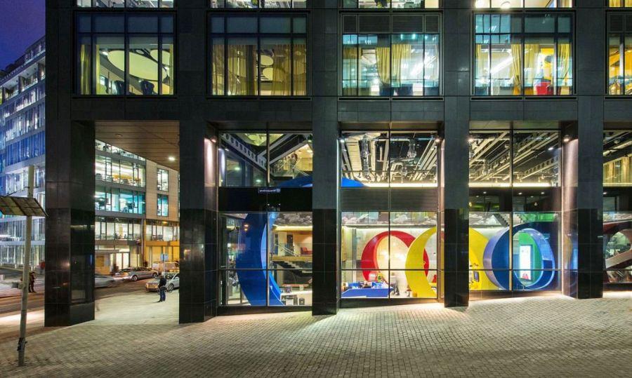 google head office inside google head offices sean doyle painting